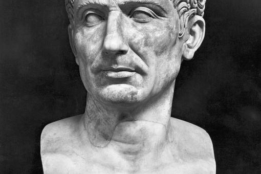 Bust of Julius Caesar, National Museum in Naples.