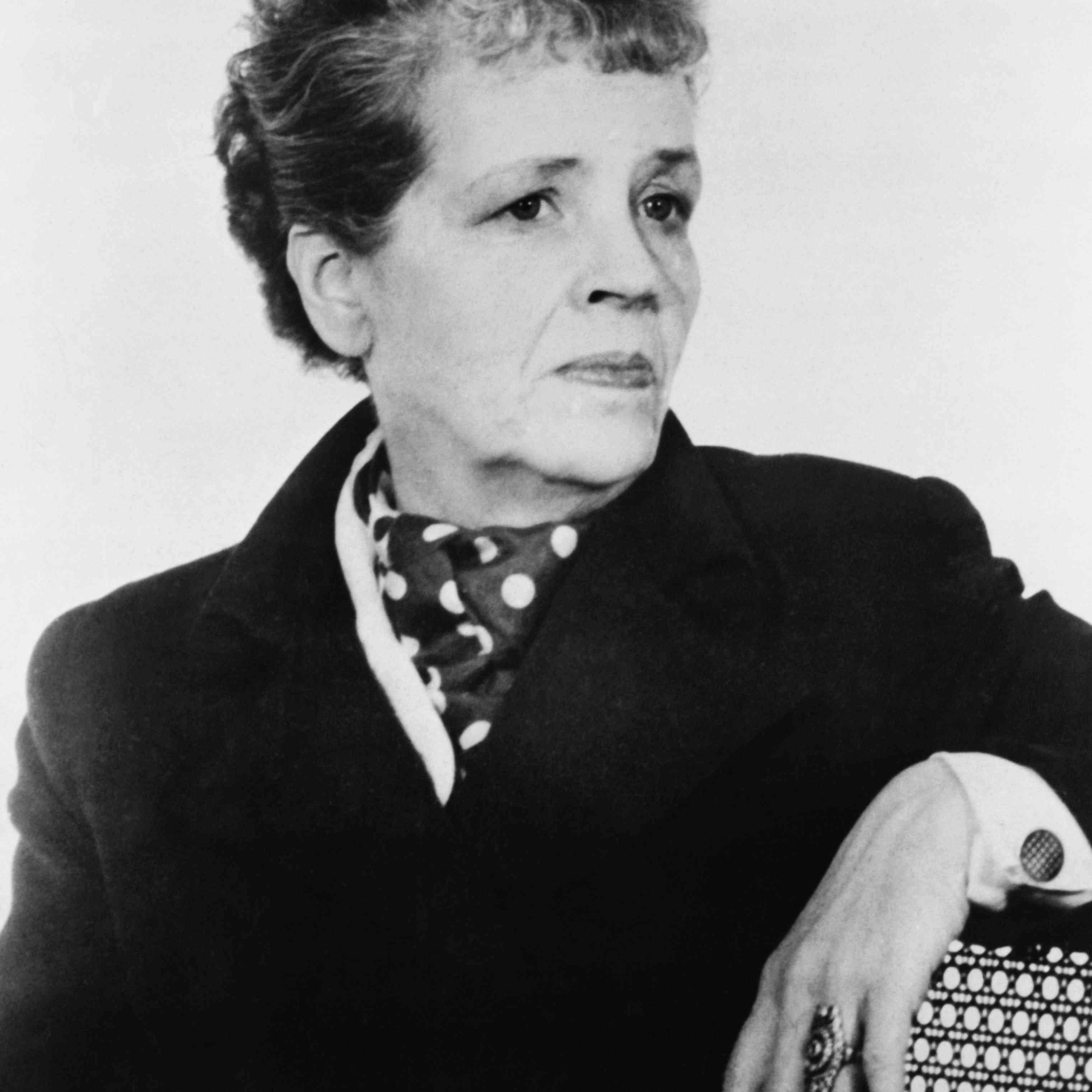 Writer Djuna Barnes