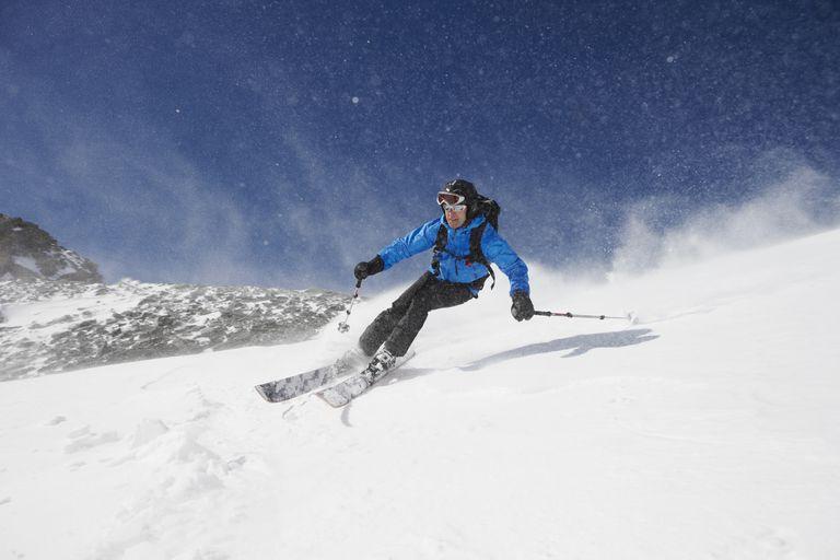 Skier downhill