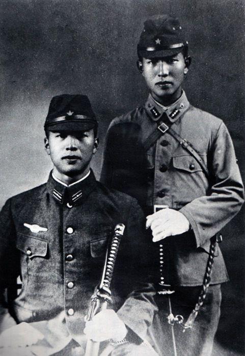 Hiroo and Shigeo Onoda