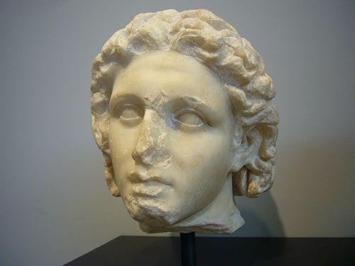Getty Museum Head of Alexander the Great