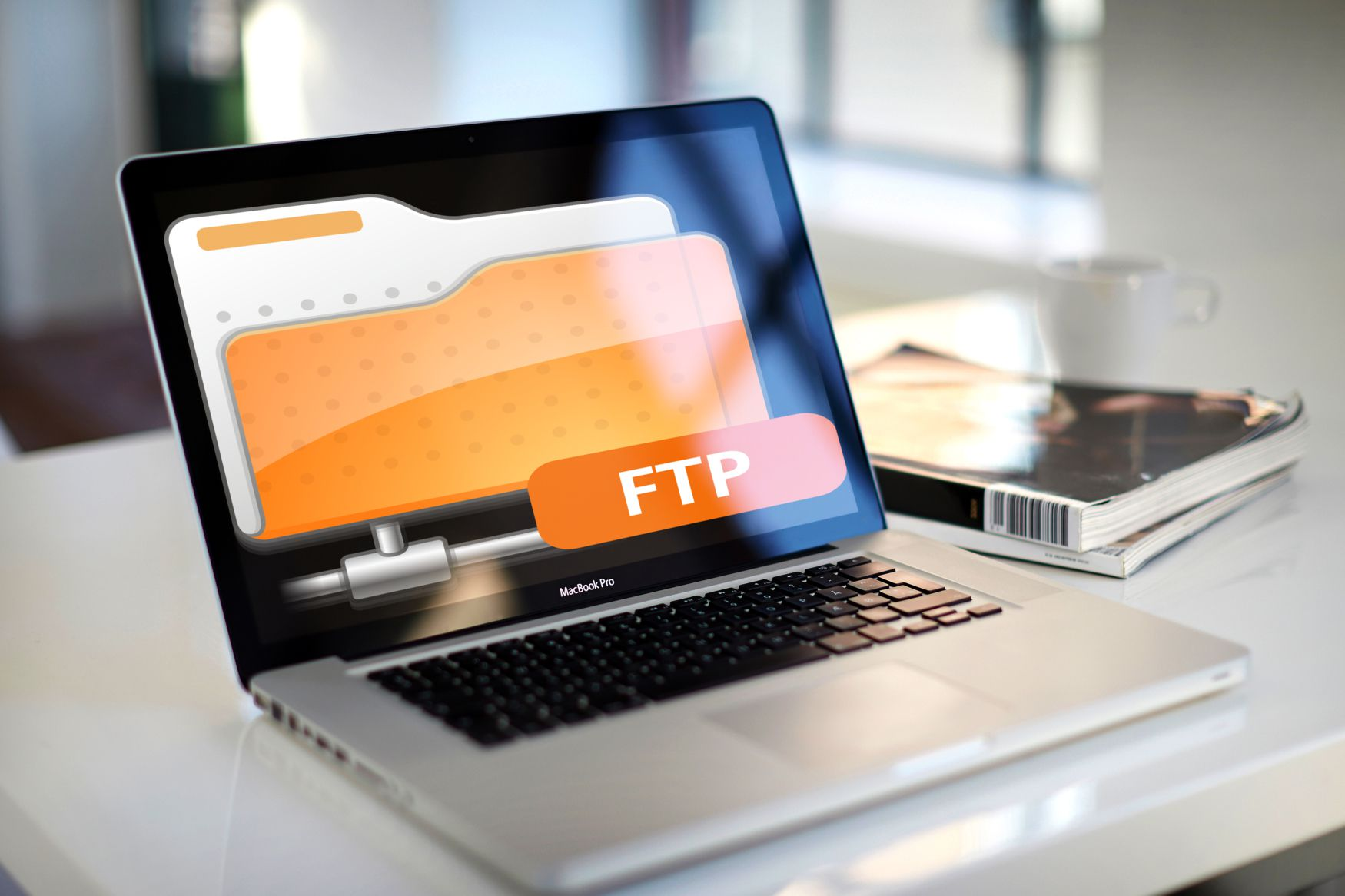 FTP on computer