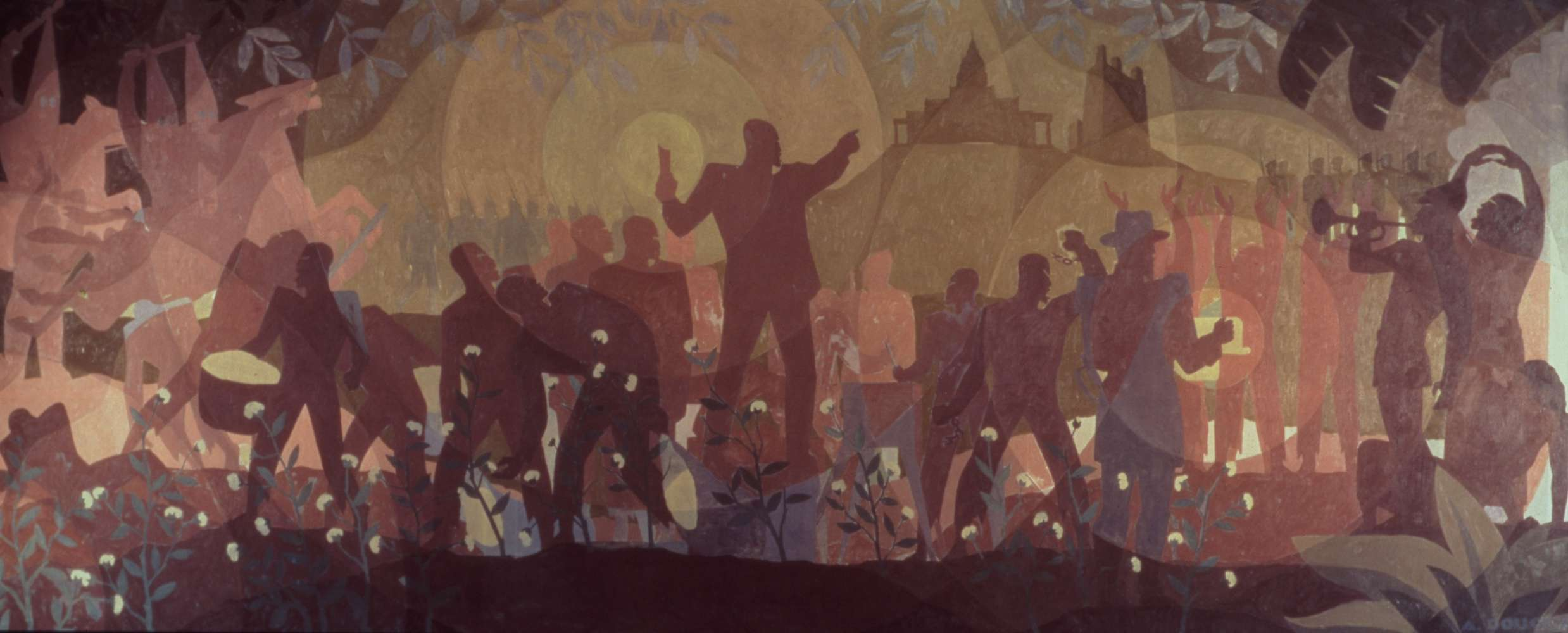 from slavery to reconstruction aaron douglas
