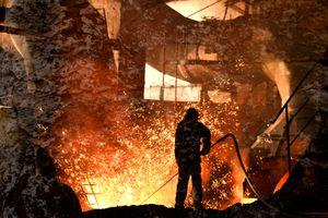 Blast furnace iron