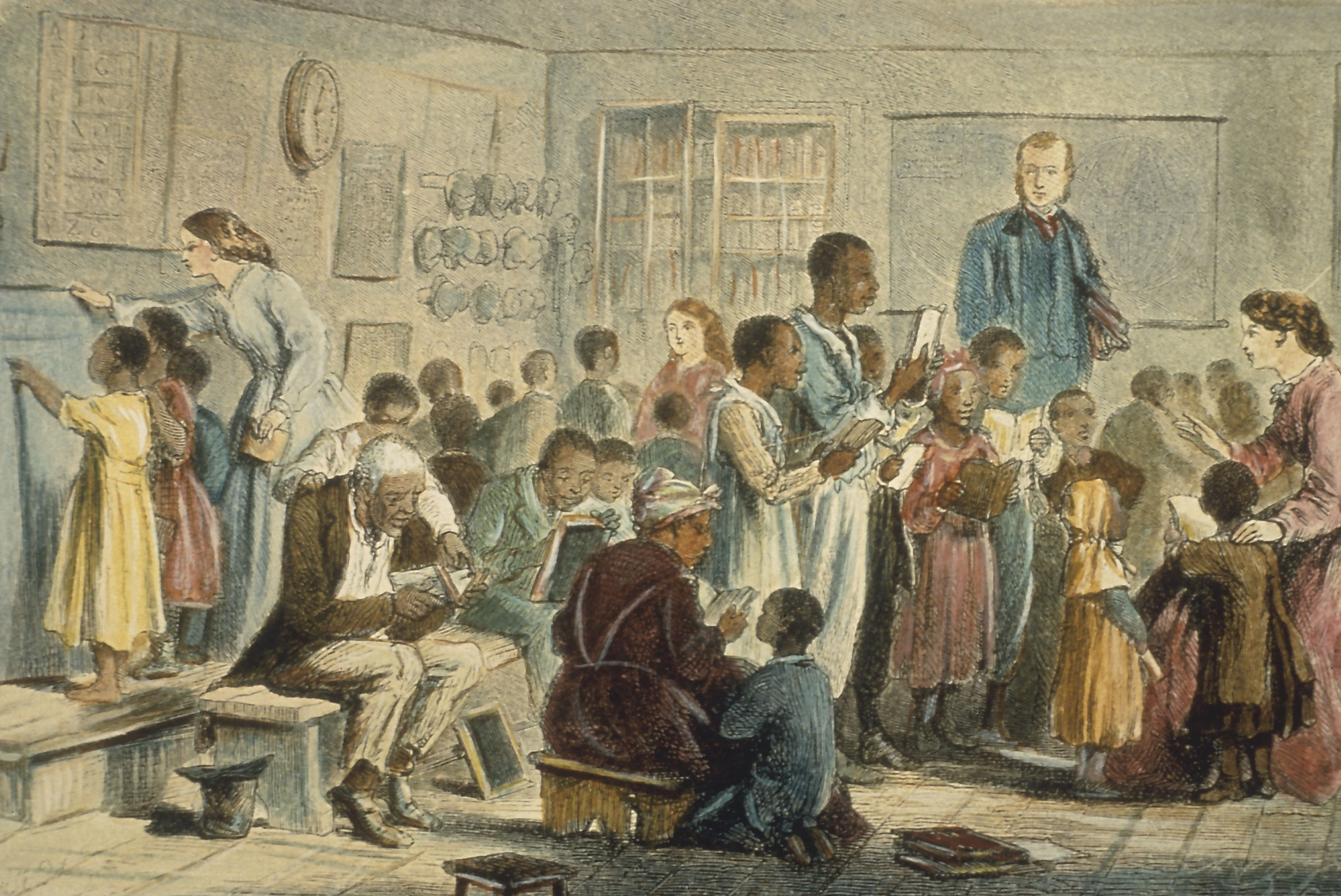 School for Enslaved Children