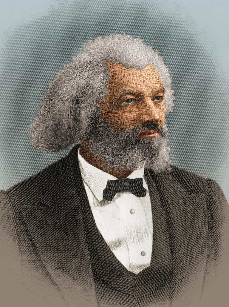 Frederick Douglass, 1876