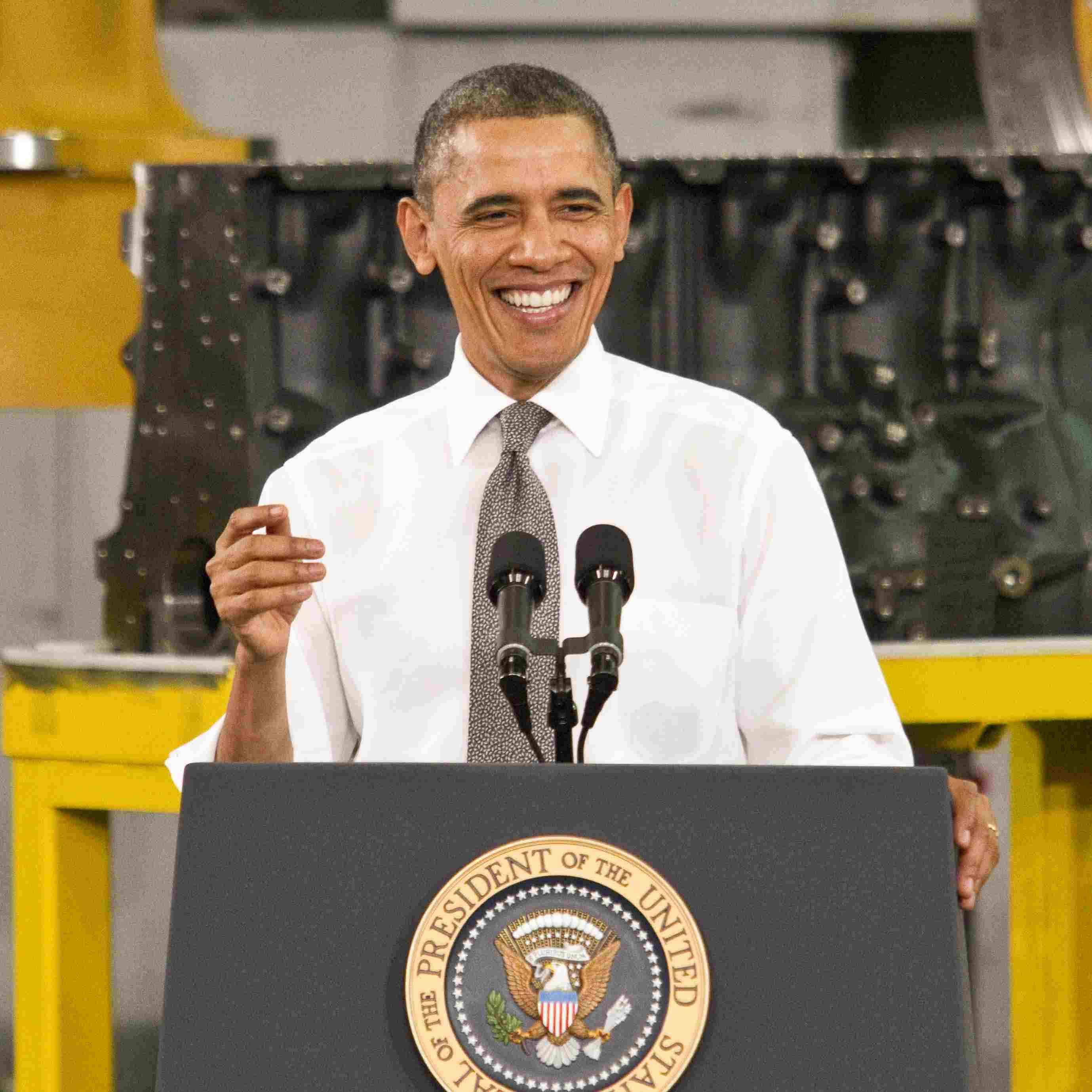 Barack Obama Laughs