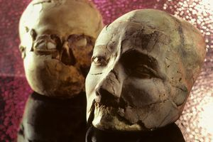 Plastered Skulls from Jericho, Pre-Pottery Neolithic B Period