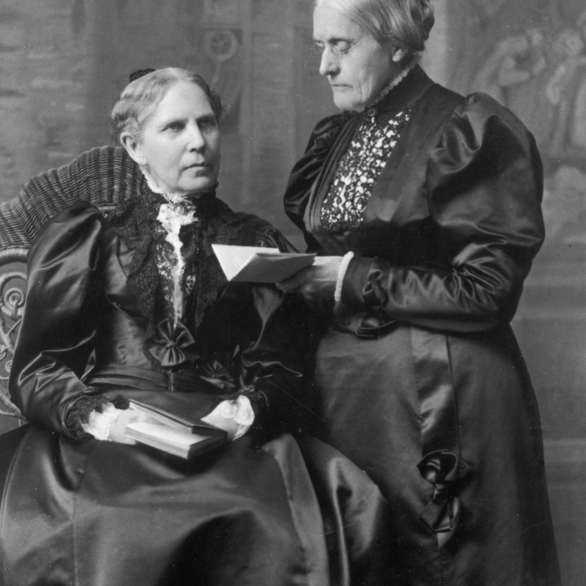 Susan B. Anthony and her sister Mary