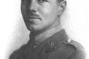 A portrait of Wilfred Owen