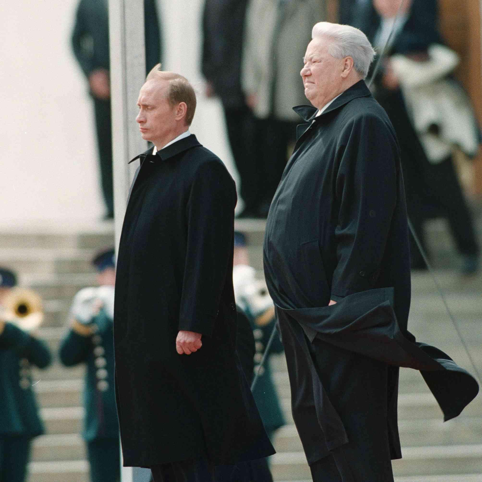 POUTINE Assermenté comme PRESIDENT DE LA RUSSIE