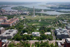 Washington DC aerial