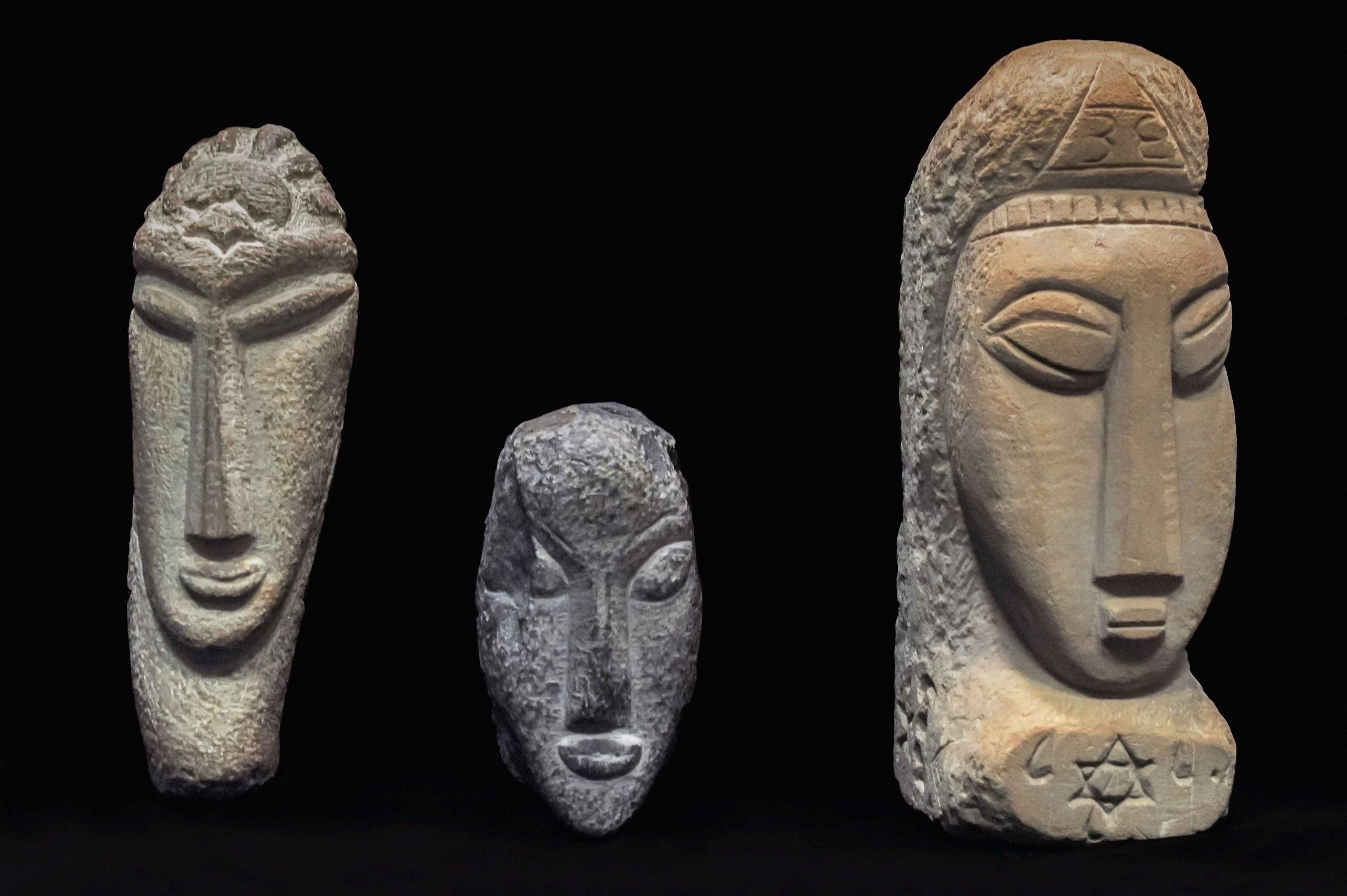 Amedeo Modigliani Sculptures