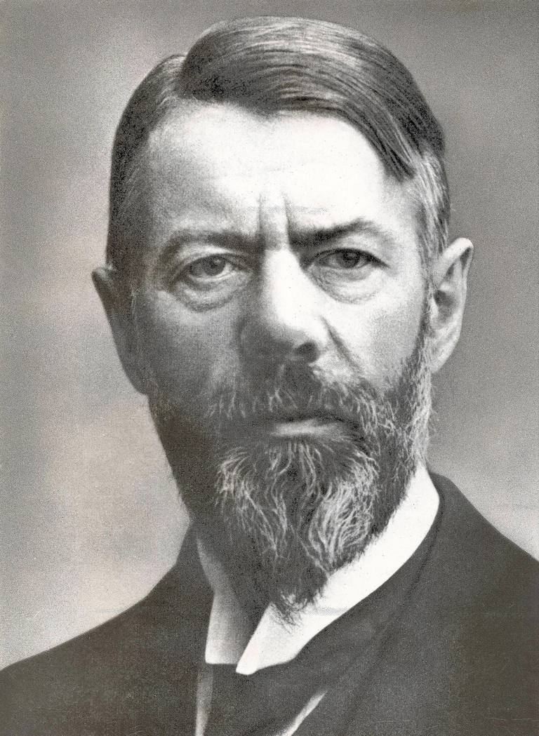 Max Weber, German Political Economist and Social Scientist