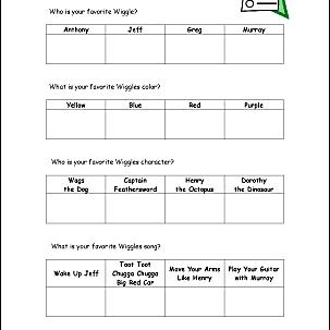 Favorite wiggles survey