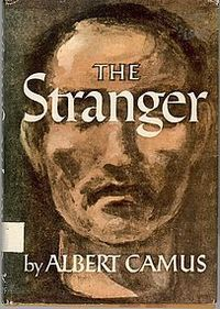 The Stranger by Albert Camus cover