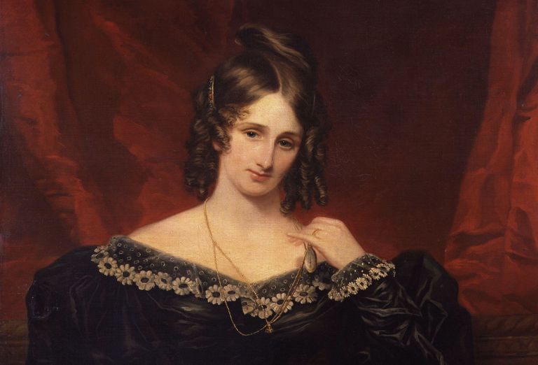 Mary Shelley, 1831