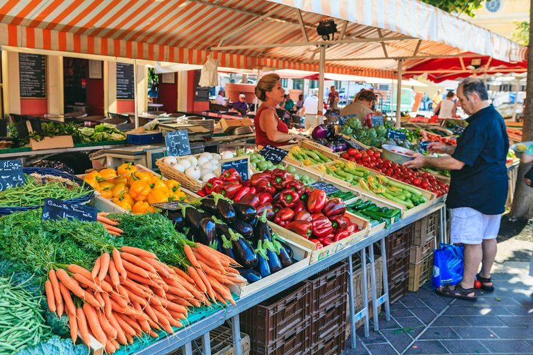 Produce stand France