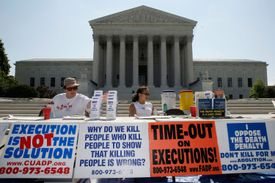 Anti-Death Penalty Groups Hold Demonstration Against Executions