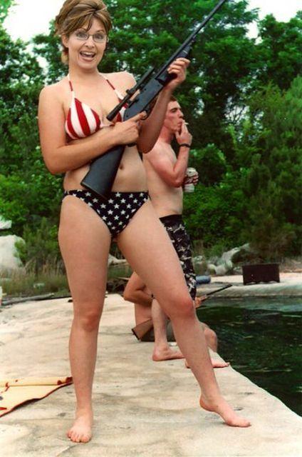 Sarah palin bikini pictures #2