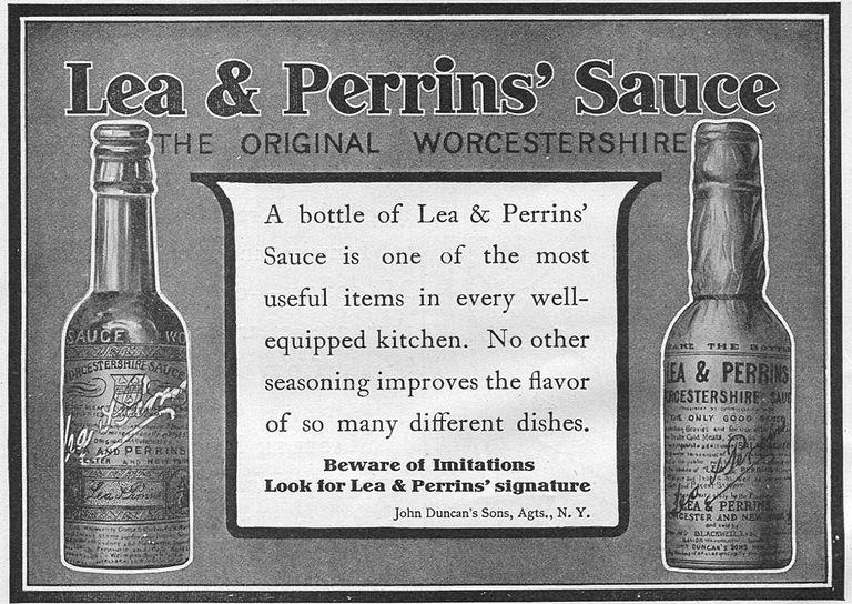 Lea & Perrins' Sauce poster