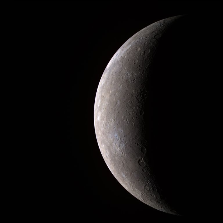 Messenger Spacecraft Images of Mercury - Mercury -- In Color!!