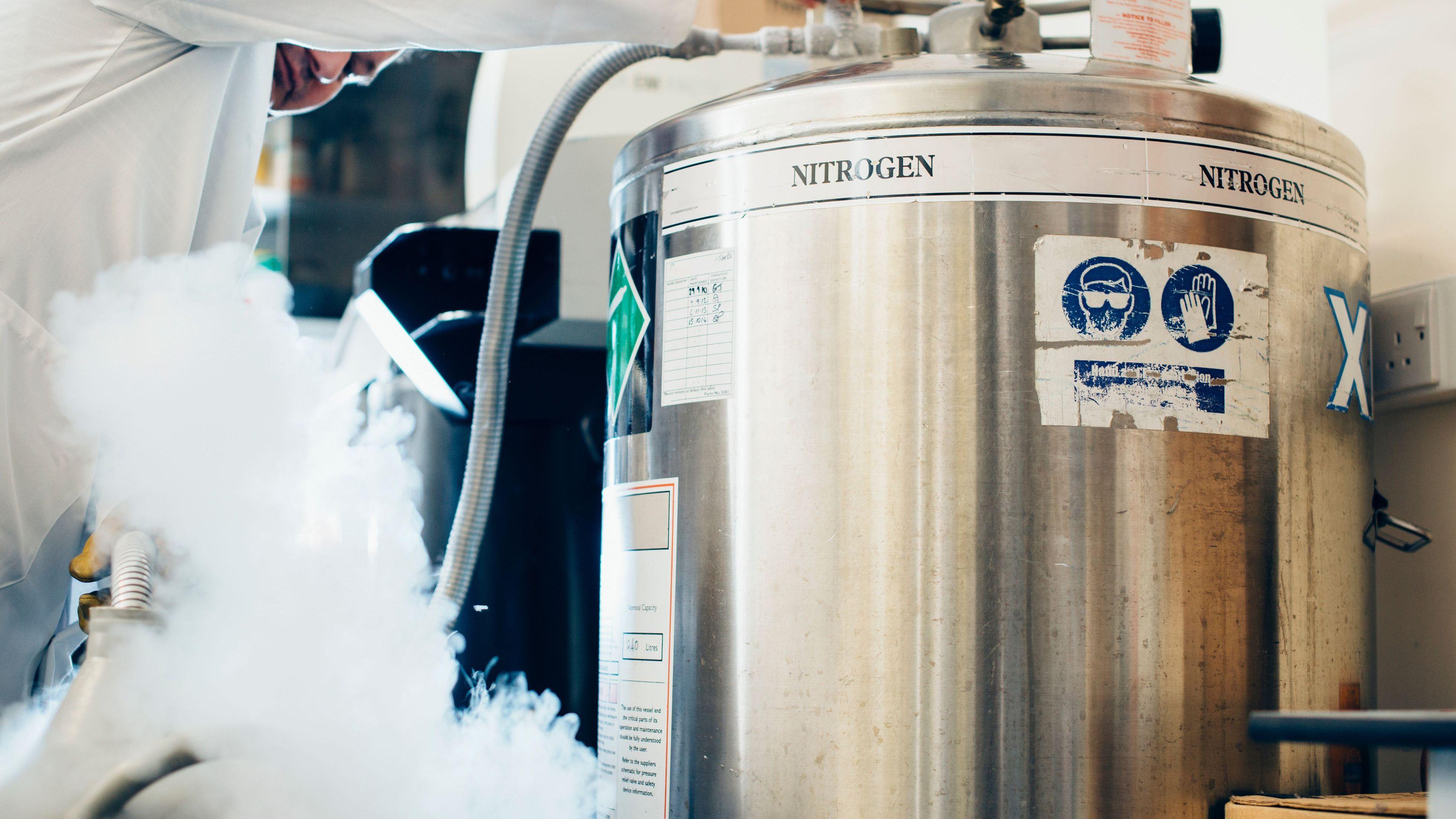 Liquid Nitrogen Temperature