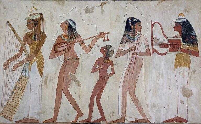ancient Egyptian painting