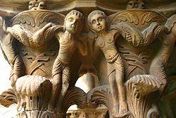 Monreale: Detail of column capital