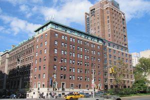 Barnard College from Broadway