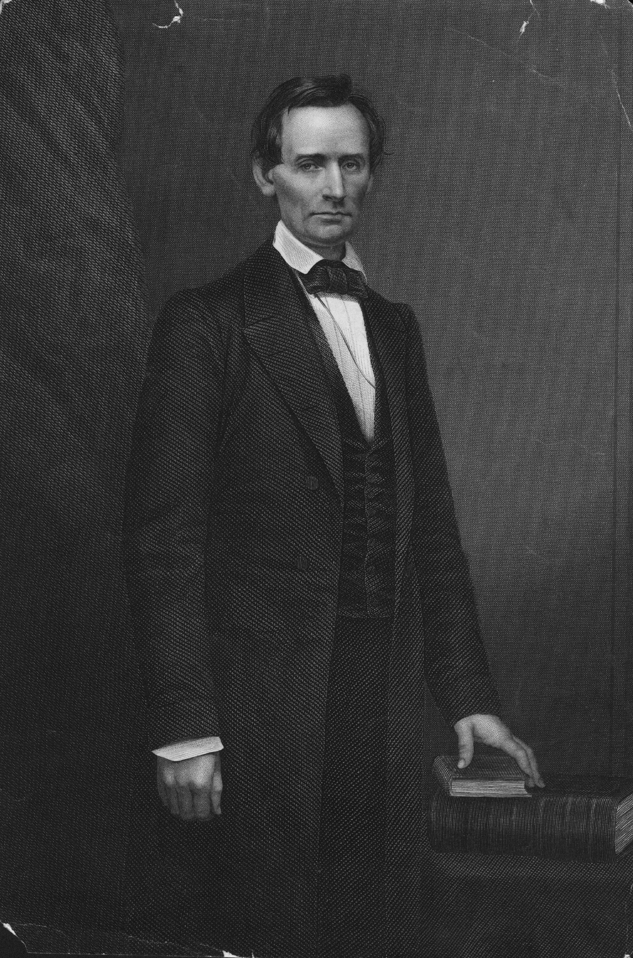 Engraving of Lincoln's Cooper Union portrait
