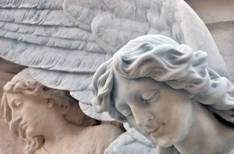 Learn to determine visual messages from your guardian angel.