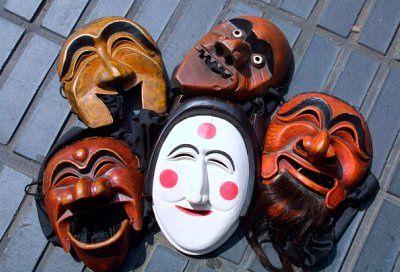 Tal And Talchum Traditional Masks And Dramas Of Korea