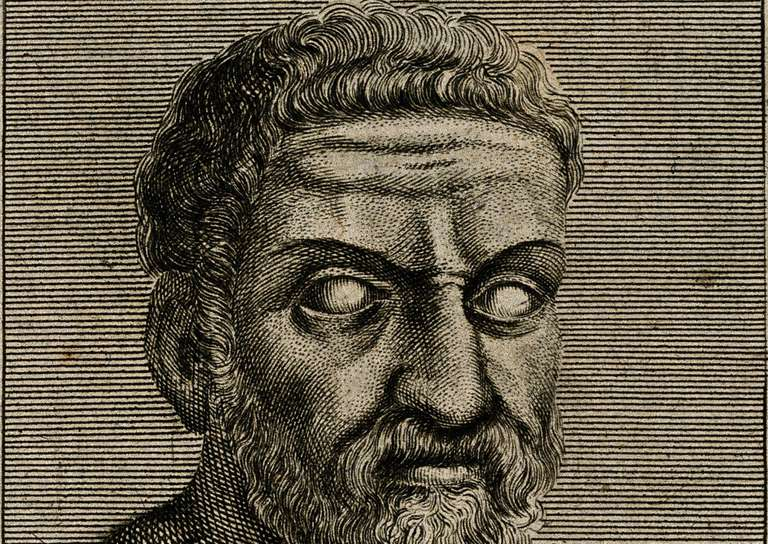 Sketch of Thales of Miletus.