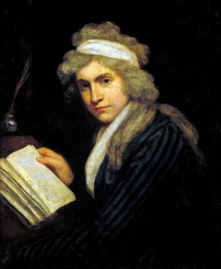Portrait of Mary Wollstonecraft