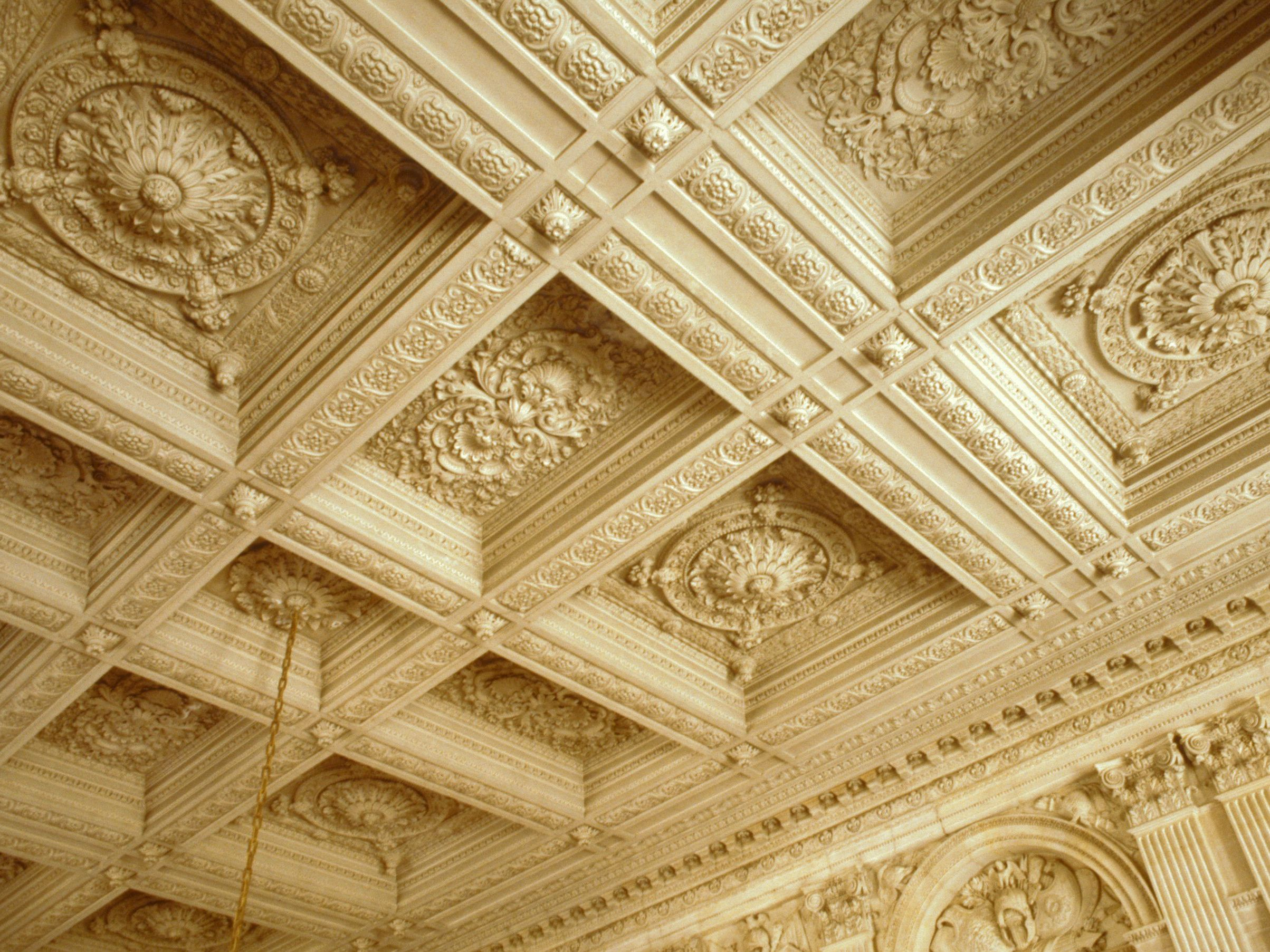 The Coffered Ceiling In Architecture