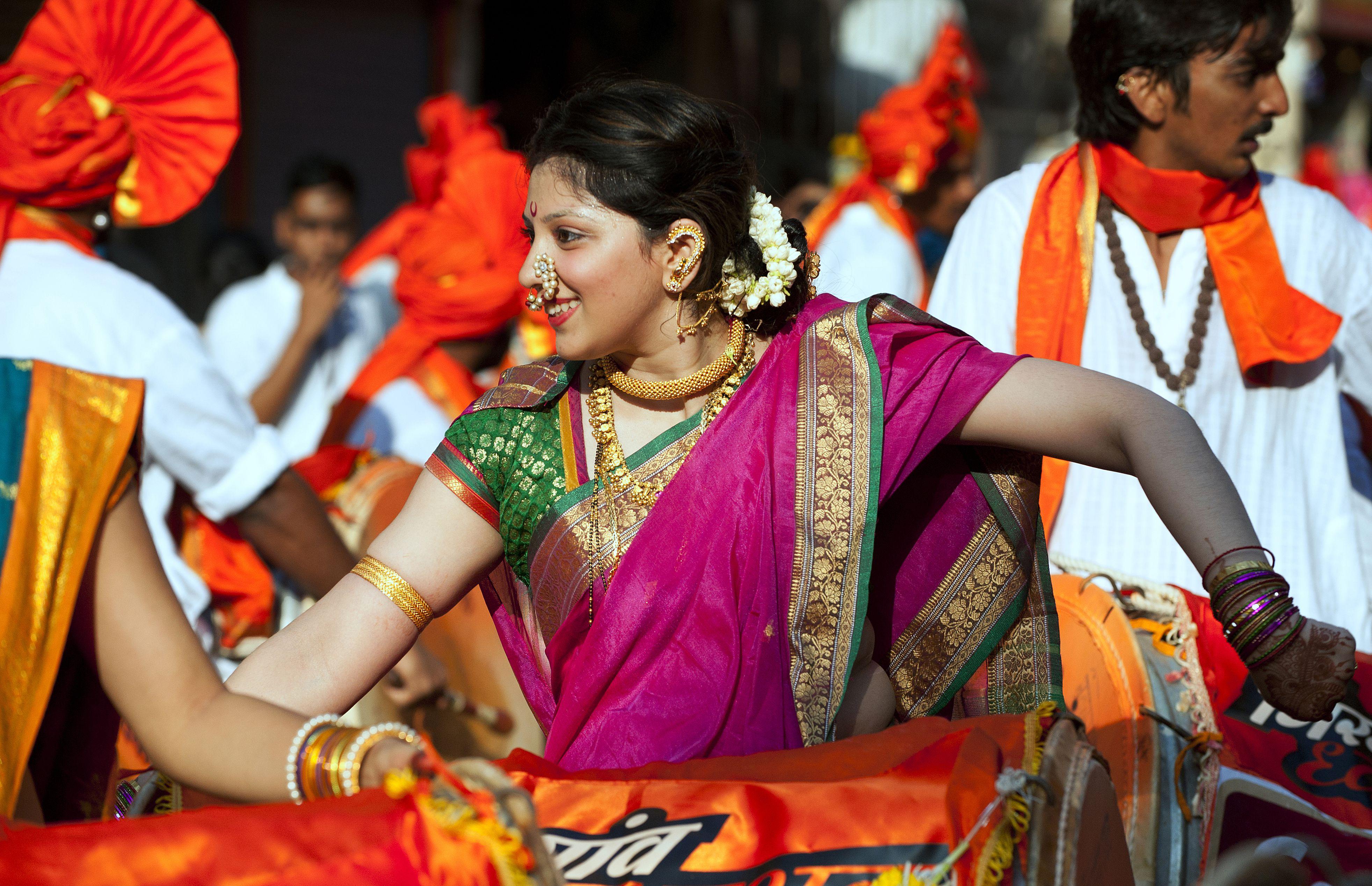 Индуистский новый год. Мумбаи, Индия.