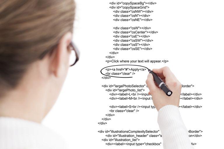 A web developer