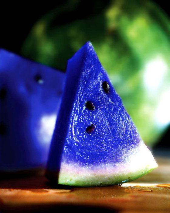 Moonmelon or blue watermelon