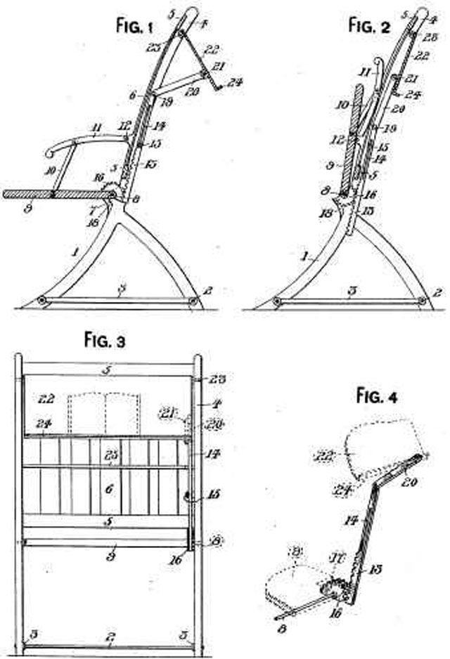Nathaniel Alexander's folding chairs