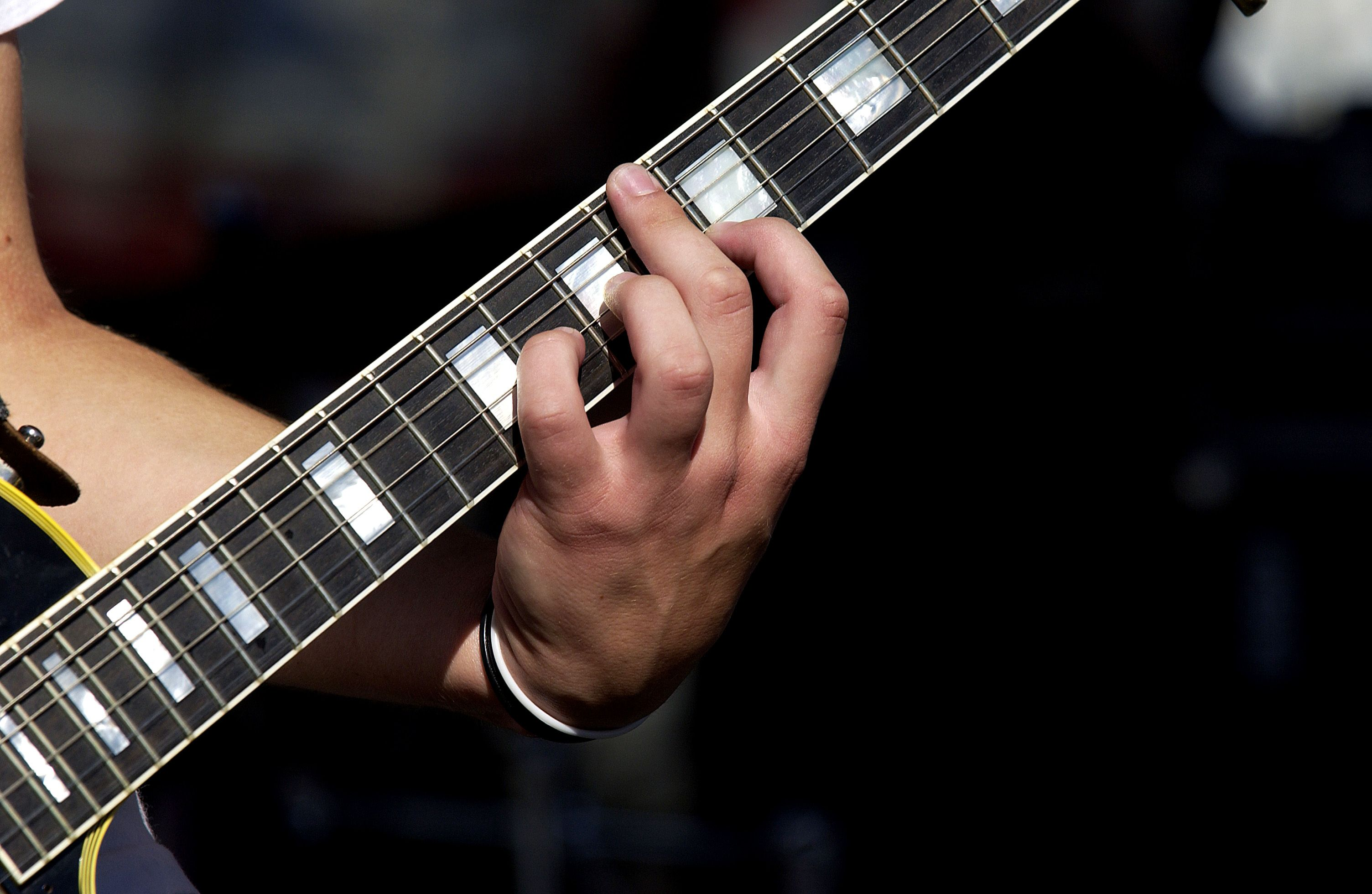 Positions Of The Pentatonic Scale For Guitar This Is A Fingerboard Diagram Open Strings Are Shown On