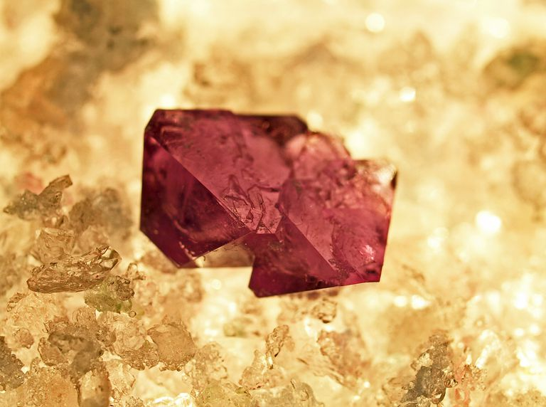It's easy to grow these red crystals that resemble rubies.