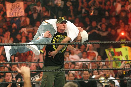 John Cena's Finishing Maneuver is the Attitude Adjustment