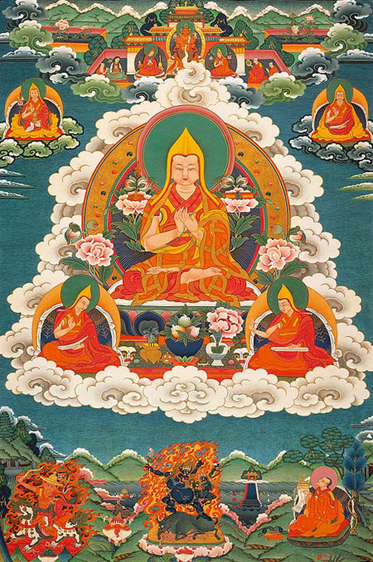 The Succession Of Dalai Lamas 1391 To The Present