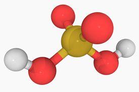 Sulfuric acid bonds