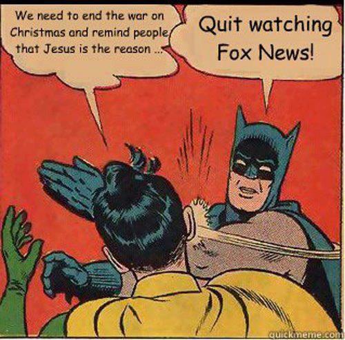 war on christmas and fox news meme