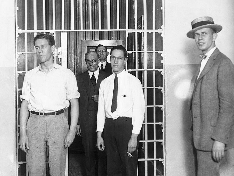 Leopold & Loeb In Prison