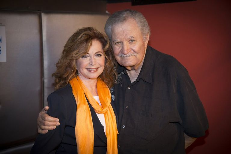Suzanne Rogers and John Aniston