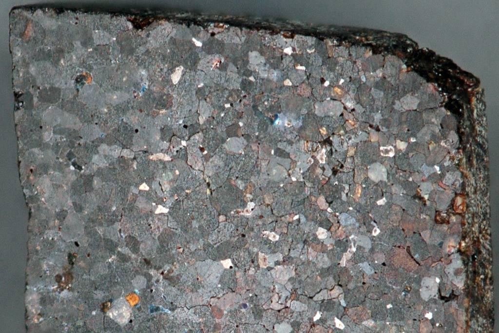 Brachinite (NWA 3151 Meteorite) 3