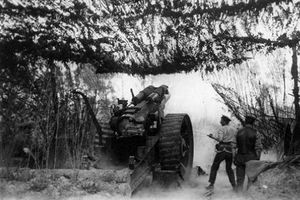 Battle of Messines during World War I